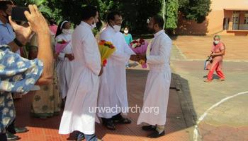 Hearty Welcome to Rev Fr Rahul DSouza